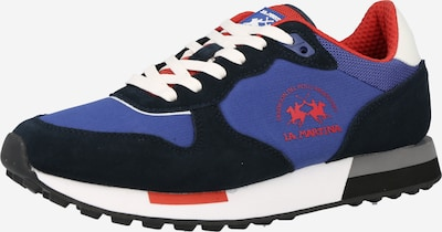 La Martina Sneaker 'NEW RUNNING' in royalblau / rot / schwarz / weiß, Produktansicht