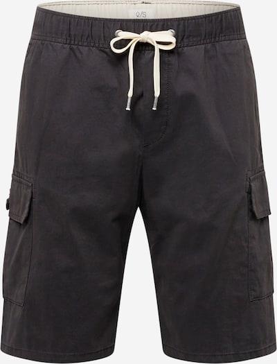 Pantaloni cu buzunare Q/S by s.Oliver pe gri închis, Vizualizare produs