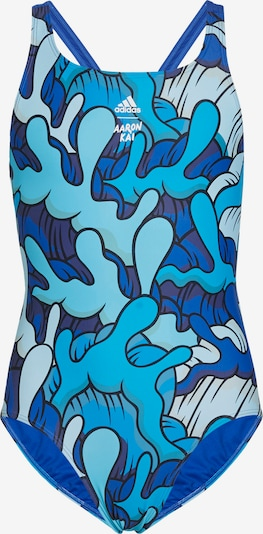 ADIDAS PERFORMANCE Sportieve badmode 'Aaron Kai Primeblue' in de kleur Blauw, Productweergave