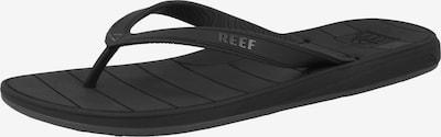 REEF Strand-/badschoen 'Switchfoot LX' in de kleur Grijs / Zwart, Productweergave