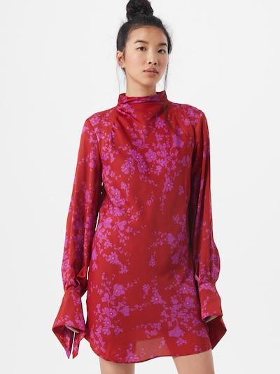 Free People Kleid 'Aries' in lila / rot, Modelansicht