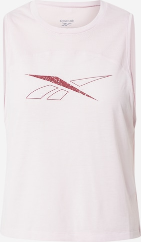 Reebok Sport Sporttop in Pink