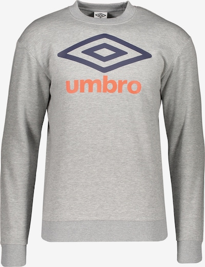 UMBRO Sweatshirt in grau, Produktansicht