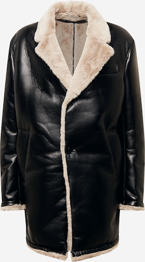 DRYKORN Mantel 'TENBY' in beige / schwarz, Produktansicht