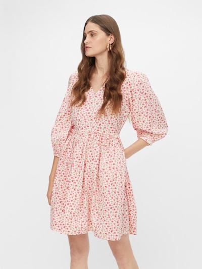 Y.A.S Kleid in hellgrün / rosa / weiß, Modelansicht
