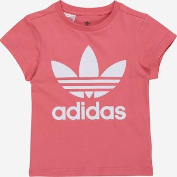 Tricou de la ADIDAS ORIGINALS pe roz