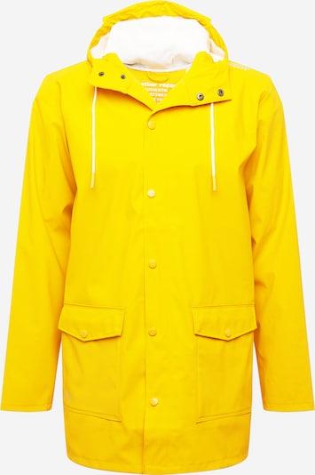 Weather Report Outdoorjas 'Erik' in de kleur Geel / Grijs, Productweergave