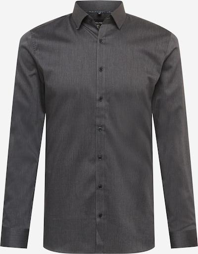 OLYMP Biroja krekls, krāsa - grafīta, Preces skats
