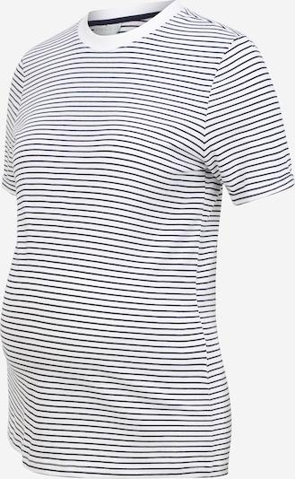 Tricou 'PCMRIA' MAMALICIOUS pe negru / alb, Vizualizare produs