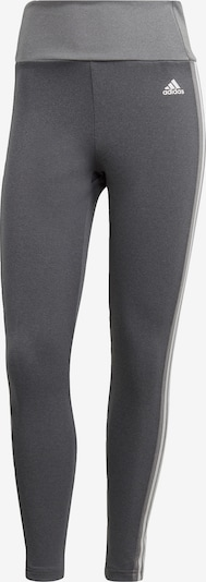 ADIDAS PERFORMANCE Sporthose 'W 3S 78 TIG' in grau / weiß, Produktansicht