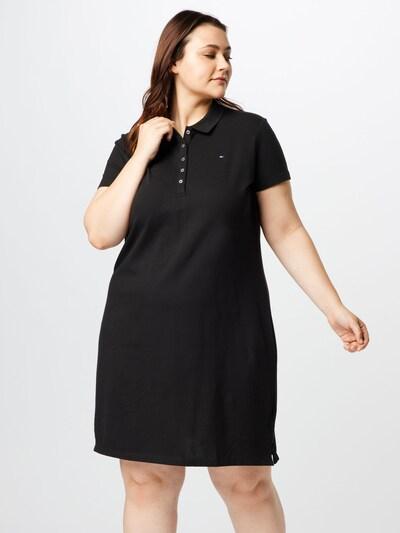 Tommy Hilfiger Curve Kleid in schwarz, Modelansicht