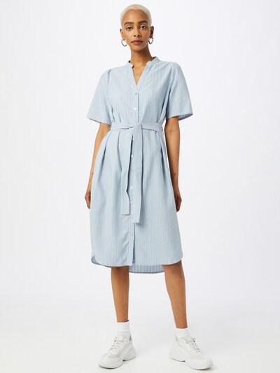 MOSS COPENHAGEN Kleid 'Makita' in blau / navy / weiß, Modelansicht
