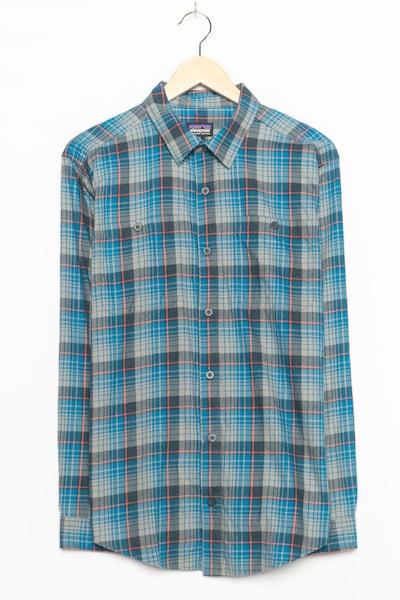 PATAGONIA Flanellhemd in M in blau, Produktansicht