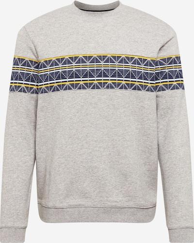 Ted Baker Sweatshirt 'Kinfish' in blau / gelb / graumeliert, Produktansicht