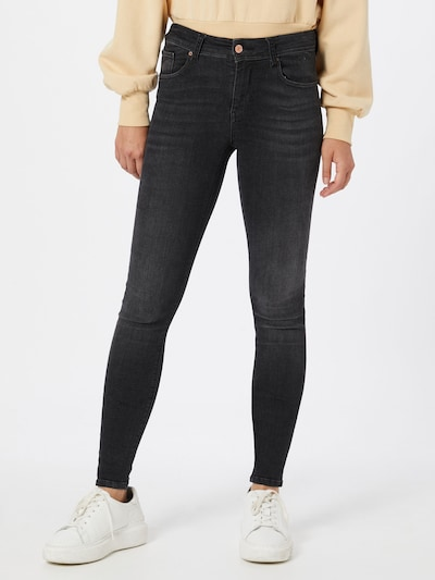 VERO MODA Jeans  'LUX' in black denim, Modelansicht