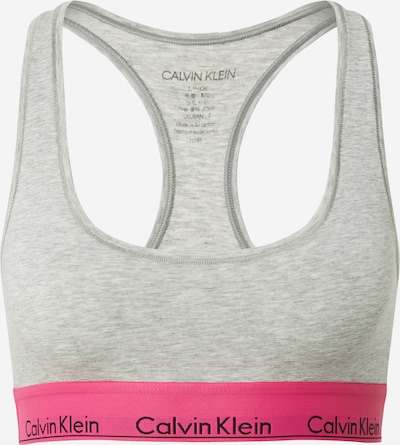 Calvin Klein Underwear Bra in grey mottled / pink, Item view
