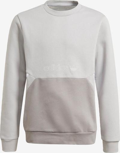 ADIDAS ORIGINALS Sweatshirt in de kleur Grijs / Wit, Productweergave
