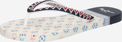 Pepe Jeans Žabky 'RAKE DANI' - námořnická modř / červená / bílá, Produkt