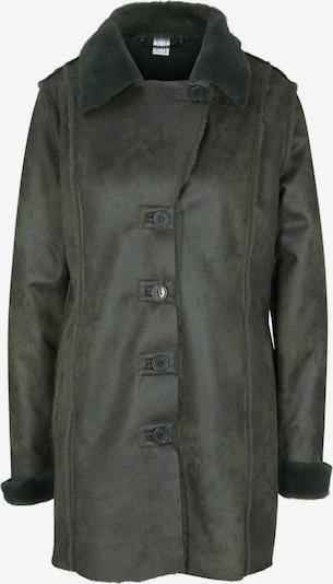 heine Manteau d'hiver en vert foncé, Vue avec produit