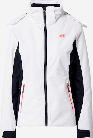 4F Jacke in orange / schwarz / weiß, Produktansicht