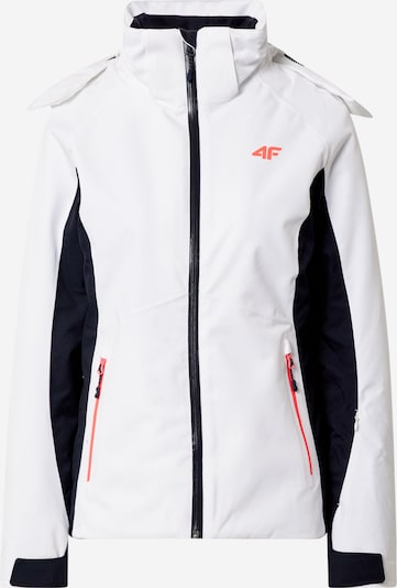 4F Sporta jaka oranžs / melns / balts, Preces skats