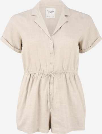 Abercrombie & Fitch Jumpsuit in Beige