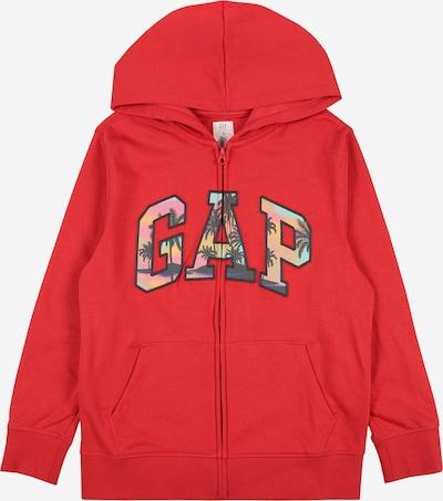 Giacca di felpa GAP di colore marino / turchese / rosa / rosso, Visualizzazione prodotti