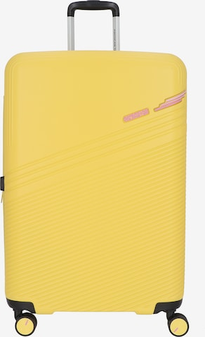 American Tourister Trolley 'Triple Trace' in Gelb