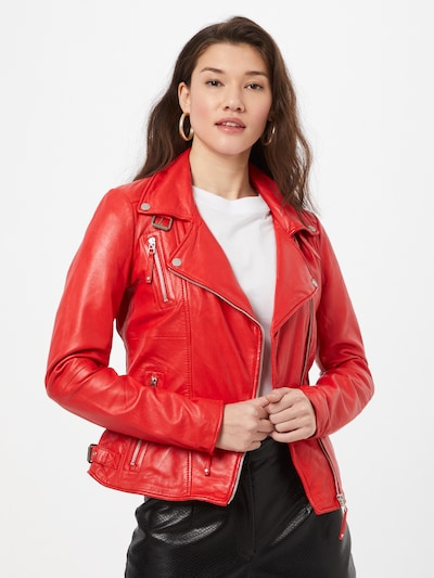 FREAKY NATION Jacke in rot: Frontalansicht