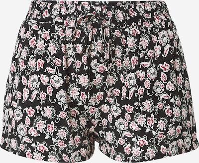 Hailys Панталон 'Rachel' в тъмнорозово / черно / бяло, Преглед на продукта