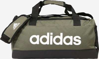 ADIDAS PERFORMANCE Sac de sport en olive / noir / blanc, Vue avec produit