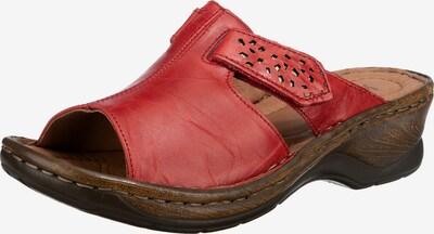 JOSEF SEIBEL Pantoletten in rot, Produktansicht