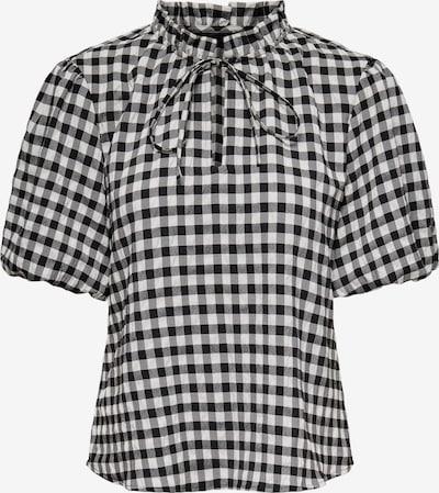 JDY Bluse 'Mikka' in schwarz / weiß, Produktansicht