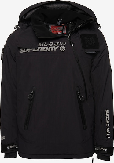 Superdry Outdoorjas 'Snow Rescue' in de kleur Zwart, Productweergave