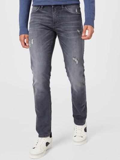 TOM TAILOR DENIM Jeans 'PIERS' in grey denim, Modelansicht