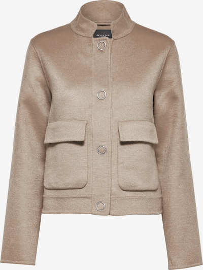 SELECTED FEMME Jacke in hellbeige, Produktansicht