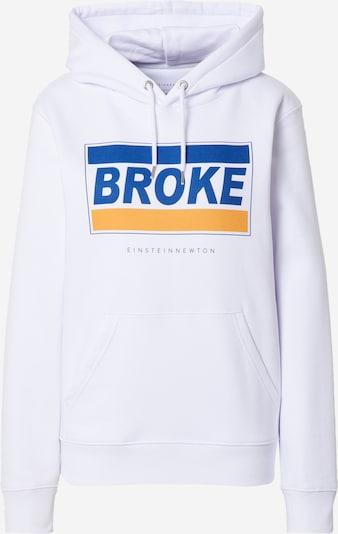 EINSTEIN & NEWTON Sweat-shirt 'Broke Brun Hilde' en bleu / blanc, Vue avec produit