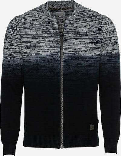 CAMEL ACTIVE Strickjacke in dunkelblau / grau, Produktansicht