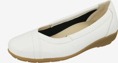 Natural Feet Ballerina in de kleur Wit, Productweergave