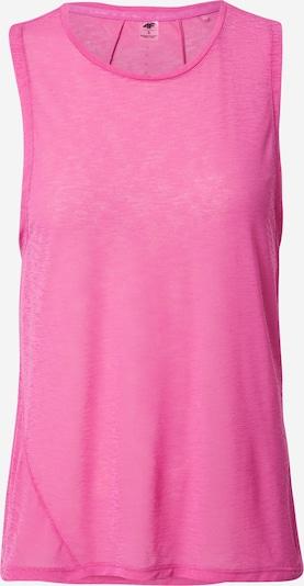 Sportiniai marškinėliai be rankovių iš 4F, spalva – rožinė, Prekių apžvalga