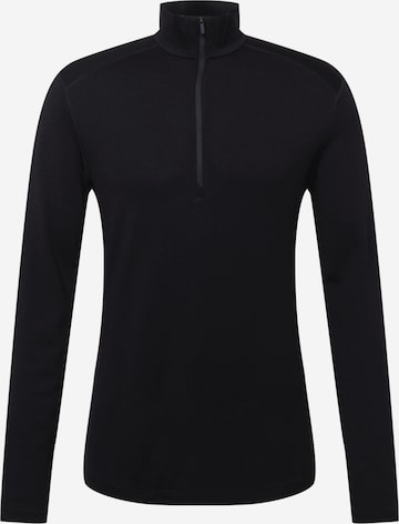 melns ICEBREAKER Sporta džemperis
