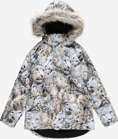Molo Zimná bunda 'Cathy' - nebesky modrá / svetlohnedá / svetlosivá / čierna, Produkt