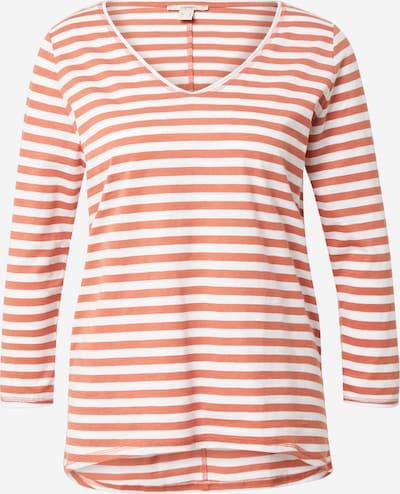 ESPRIT Shirt in altrosa / weiß, Produktansicht