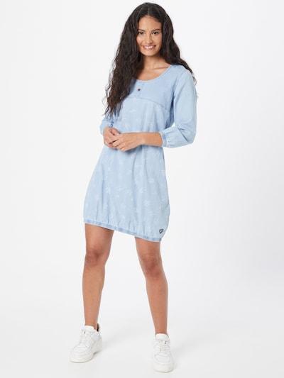 Alife and Kickin Kleid 'Doja' in hellblau / weiß, Modelansicht