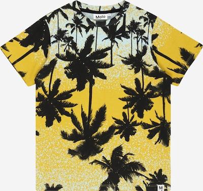 Molo T-Krekls 'Rame', krāsa - debeszils / gaiši oranžs / melns, Preces skats