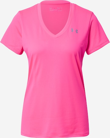 UNDER ARMOUR Funktionsshirt in Pink