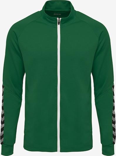 Hummel Jacket in grün / schwarz / weiß, Produktansicht