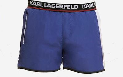 Karl Lagerfeld Badehose ' Boardshort ' in blau, Produktansicht