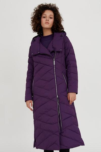 Finn Flare Winter Coat in violet, View model