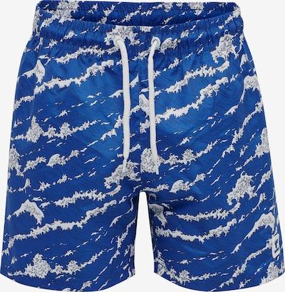 Hummel Swim Shorts in blau / weiß, Produktansicht